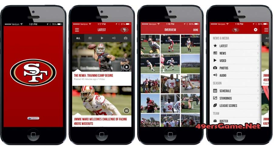 San Francisco 49ers Apps
