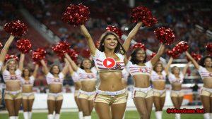 San Francisco 49ers Cheerleaders Video 2017